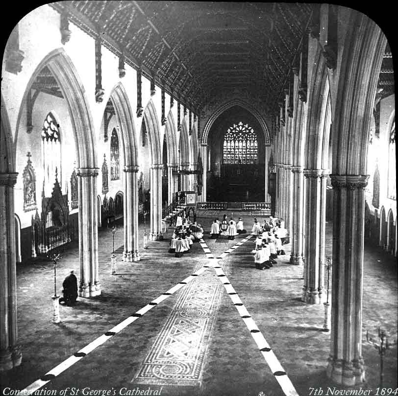 Konsekracja katedry św. Jerzego w Southwark.
