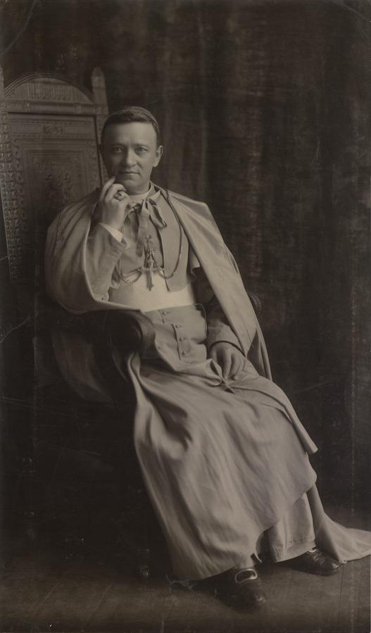 Abp Diomedes Falconio O.F.M. w symarze i farioli.