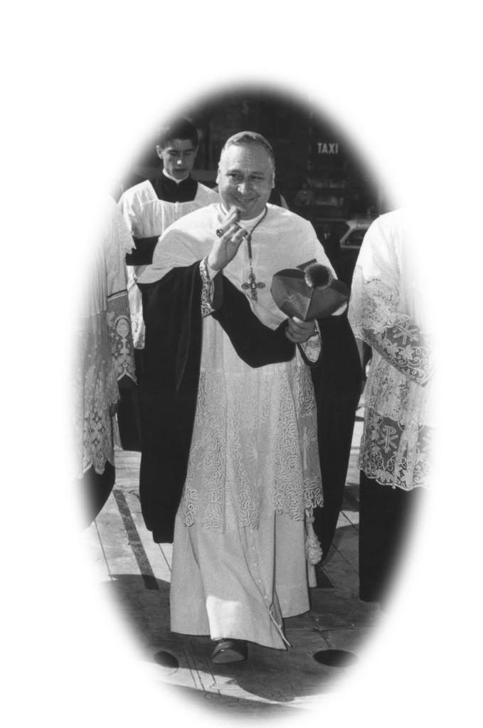 Ksiądz biskup Castellano O.P.