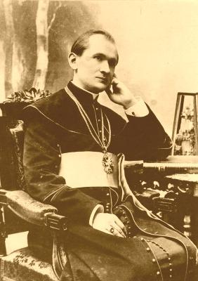 Ks. Idzi Benedykt Radziszewski, założyciel Katolickiego Uniwersytetu Lubelskiego.