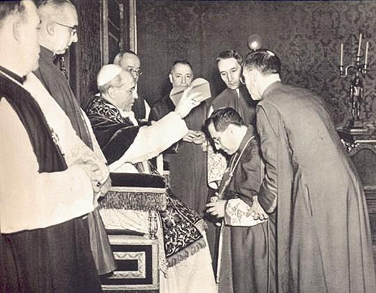 chierica Pio XII e Siri