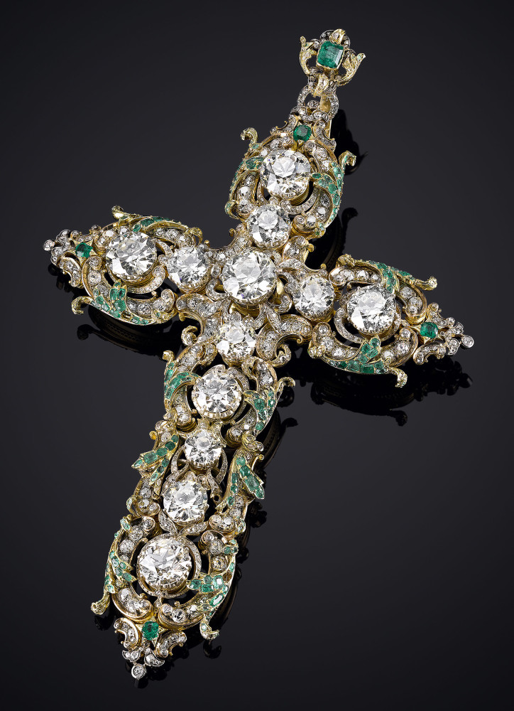 Pope Paul VI Diamond Cross