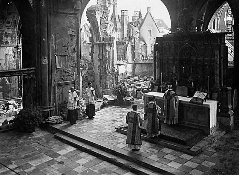 Catedral Münster, depois da II Guerra Mundial
