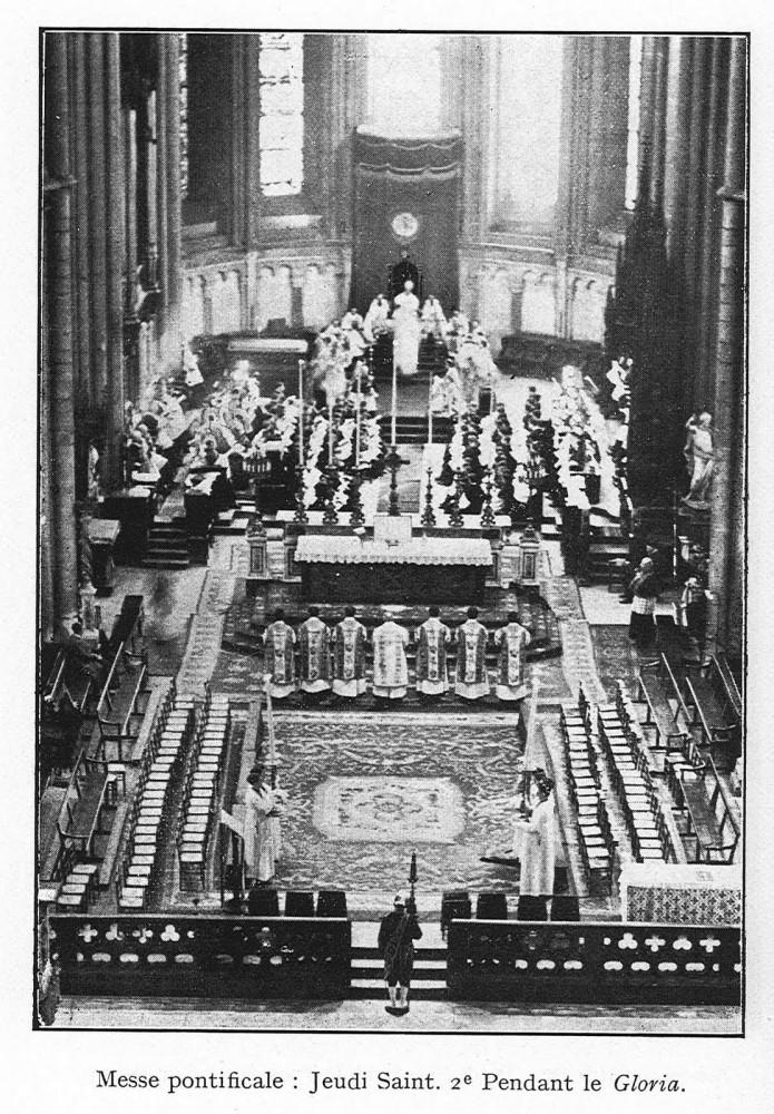 Pontifical Lyons 1934 Maurin Gloria