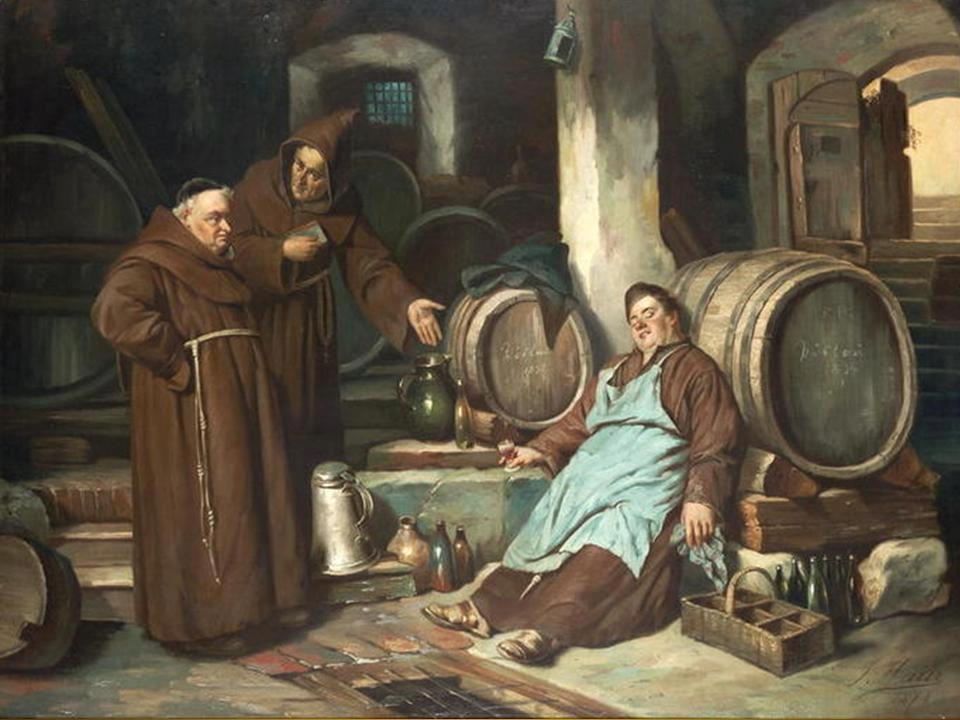 Friar loves the drink