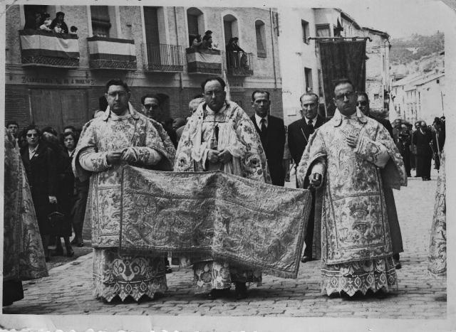 Daroca_Corpus_procesion_1955