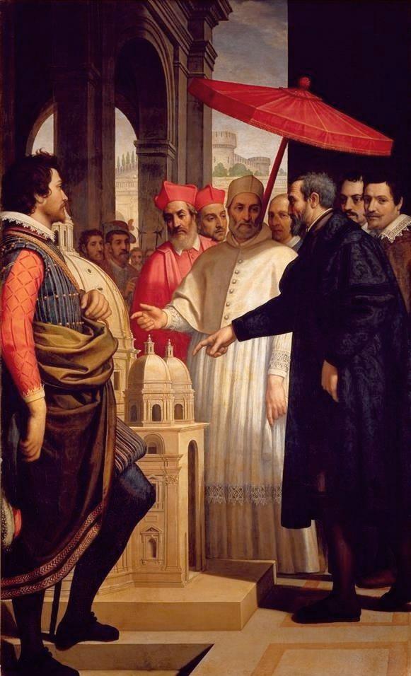 Passignano_Michelangelo+Paul-IV