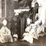Pius XI on the throne