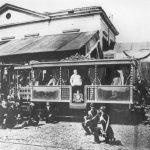 Pius IX in his train