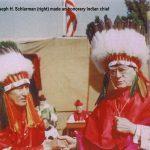 Abp. Schlarman as a chieftain